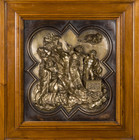 Contest Panel Sacrifice of Isaac by Ghiberti